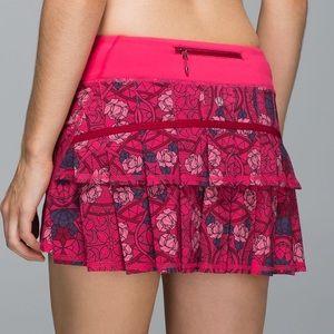 Lululemon Pace Setter Running Skirt